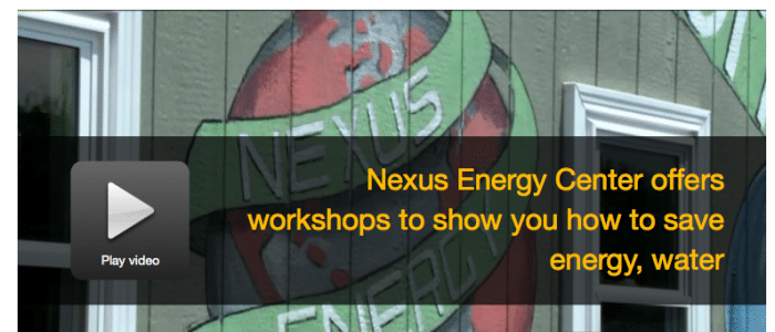 Nexus Energy Center offers monthly workshops>>WHNT 19