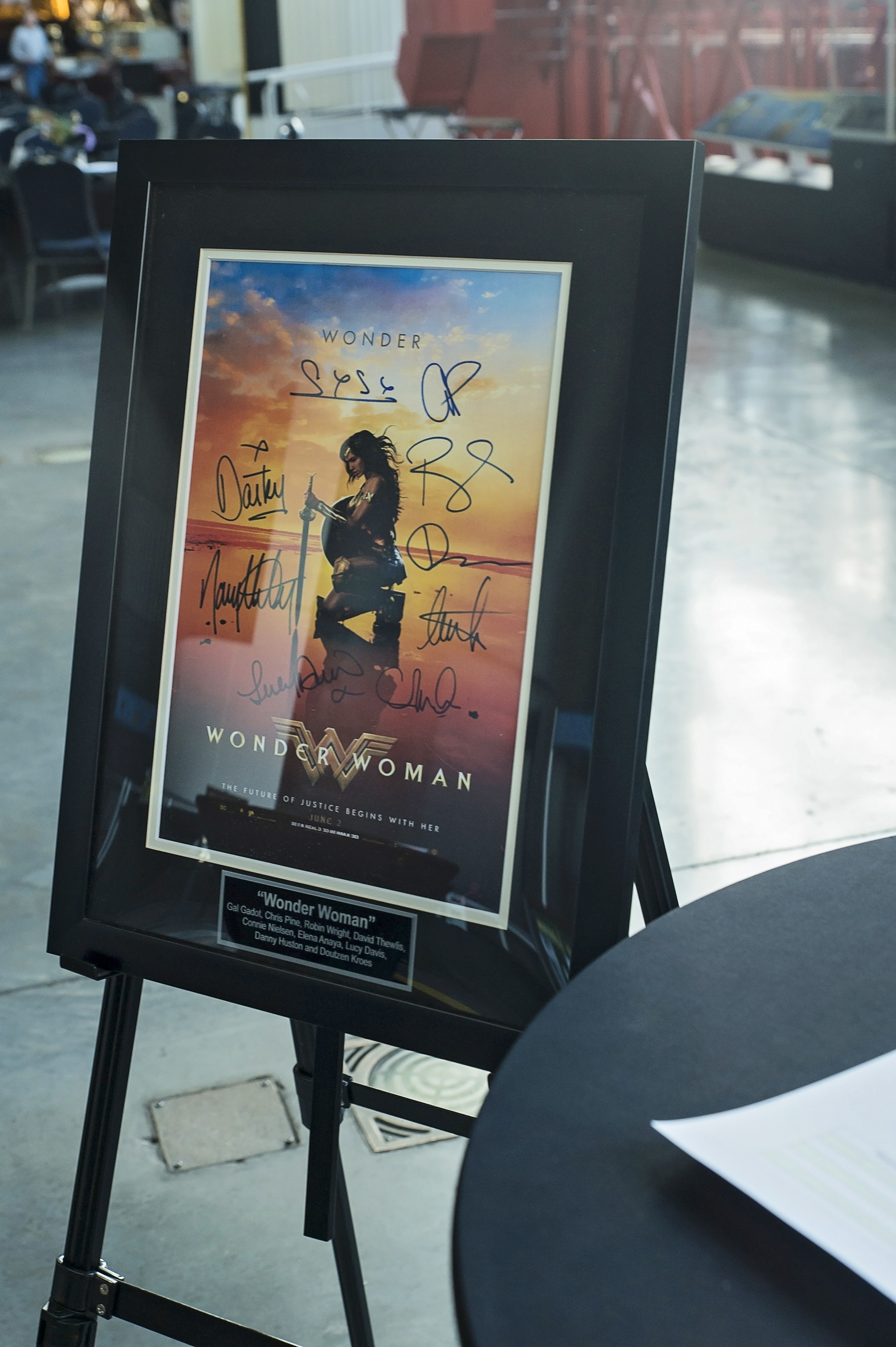 Auction Item: Wonder Woman Movie Poster